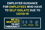 Employer Guidance for employees who have to self-isolate due to covid-19