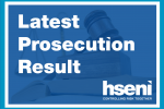 Latest prosecution result