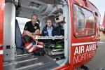 Keith Morrison and the NI Air Ambulance