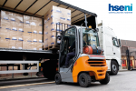 Safety focus on forklift trucks