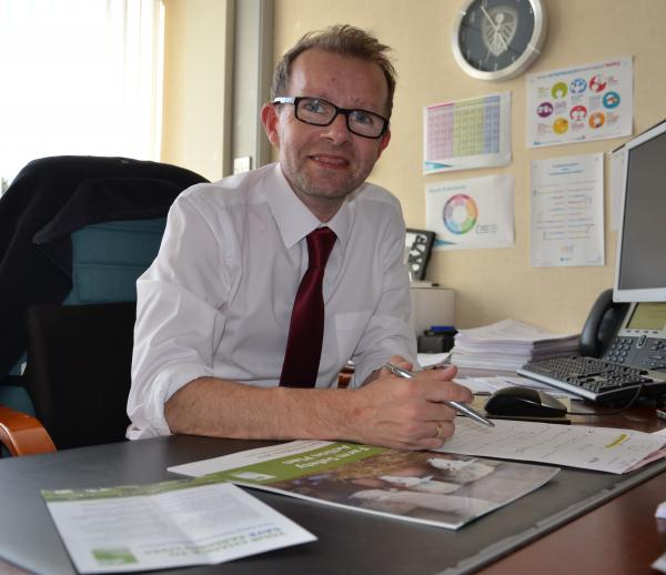 HSENI's chief executive Keith Morrison