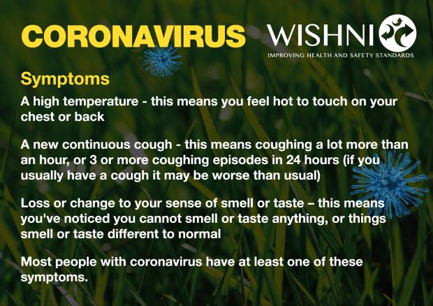 Coronavirus - WISHNI card 1