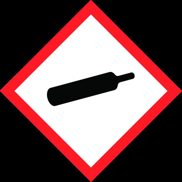 Gas under pressure - CLP Hazard Pictogram