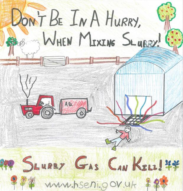 October - Ava Quinn, St Mary s PS, Dunamore - KS1 2nd prize