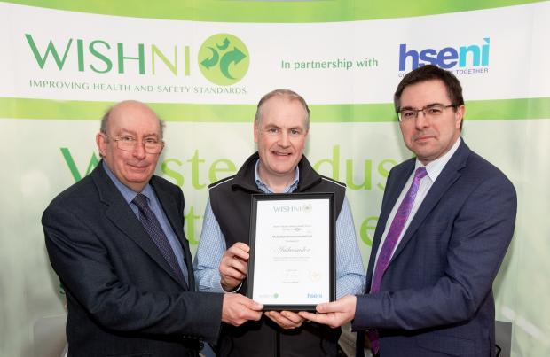 Presentation of the 2020 WISHNI Ambassadors Award to McQuillan Environmental