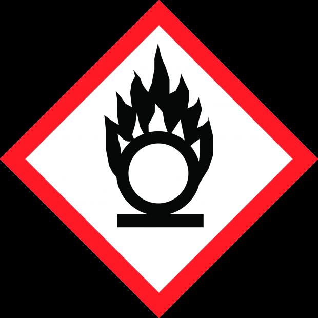 Oxidising - CLP Hazard Pictogram