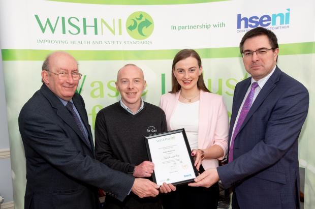 Presentation of the 2020 WISHNI Ambassadors Award to Re-Gen Waste