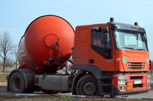 Picture of transporting dangerous goods