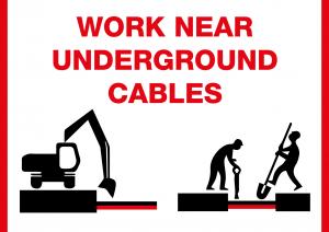 Work near underground cables