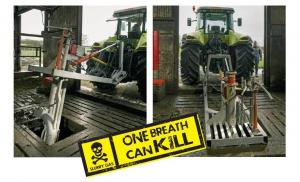 Slurry mixing - one breath can kill