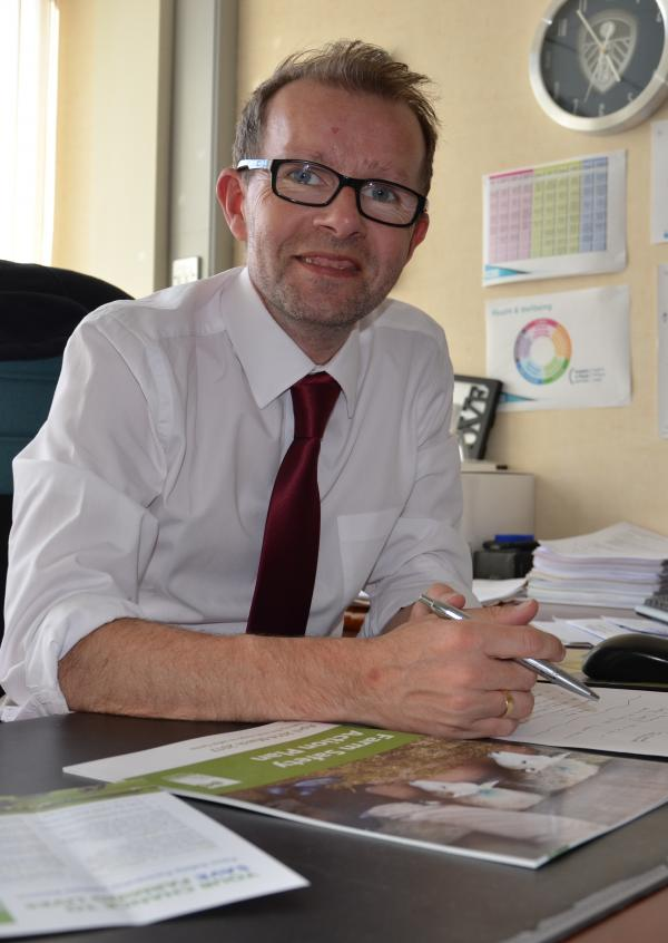 HSENI's chief executive Keith Morrison